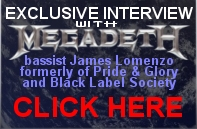 Interview with Megadeth bassist James Lomenzo